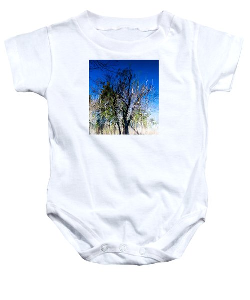 Rippled Reflection Baby Onesie