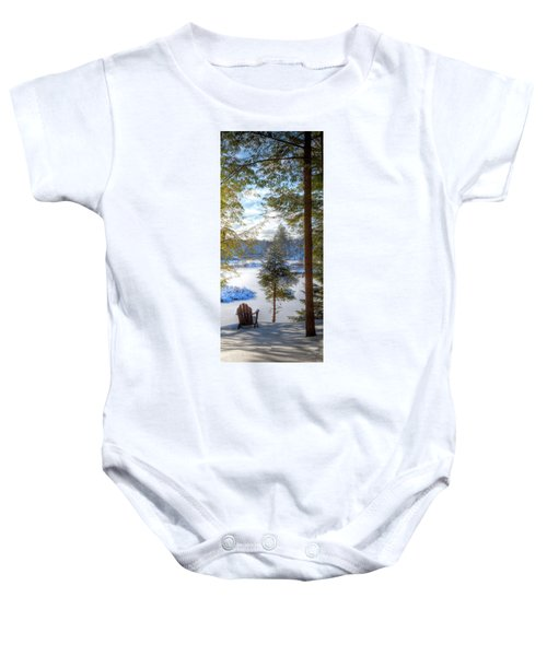 River View Baby Onesie