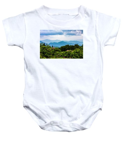 Roan Mountain Rhodos Baby Onesie
