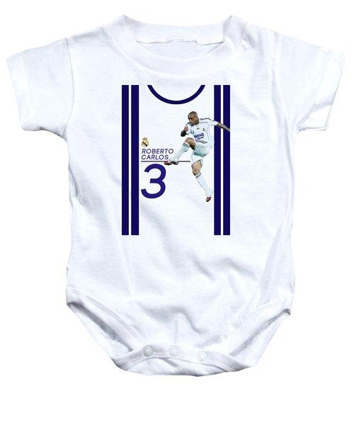 Roberto Carlos Baby Onesie by Semih Yurdabak