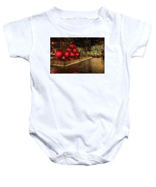 Rockefeller Center  Baby Onesie