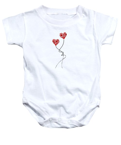 Romantic Art - You Are The One - Sharon Cummings Baby Onesie