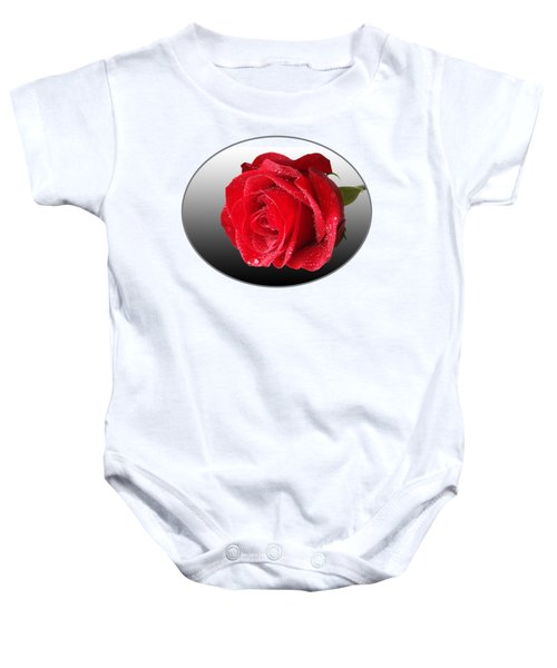 Romantic Rose Baby Onesie
