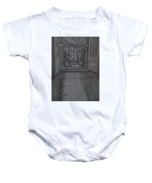 Room With A View Baby Onesie