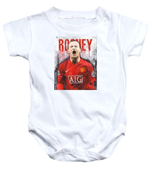 Rooney Baby Onesie by Jeff Gomez