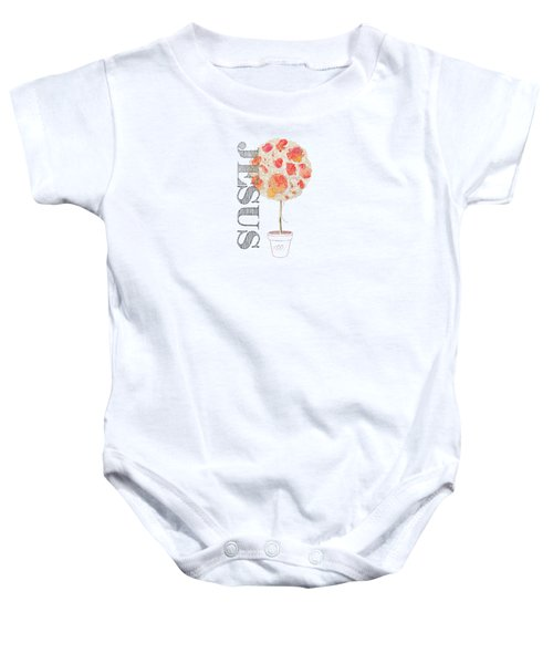 Rooted And Firmly Grounded In Love Baby Onesie