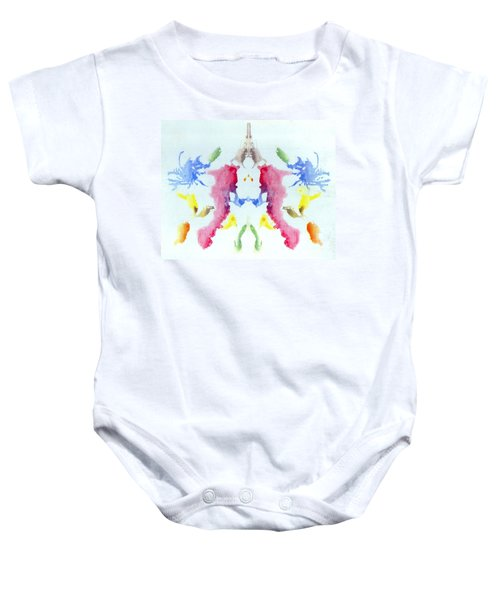 Rorschach Test Card No. 10 Baby Onesie