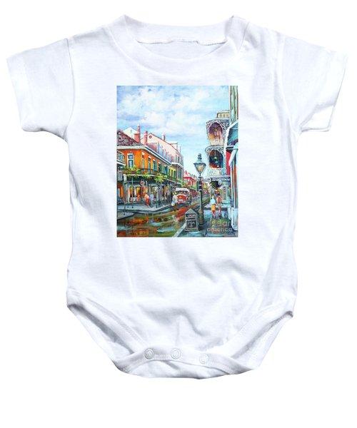 Royal Balconies Baby Onesie