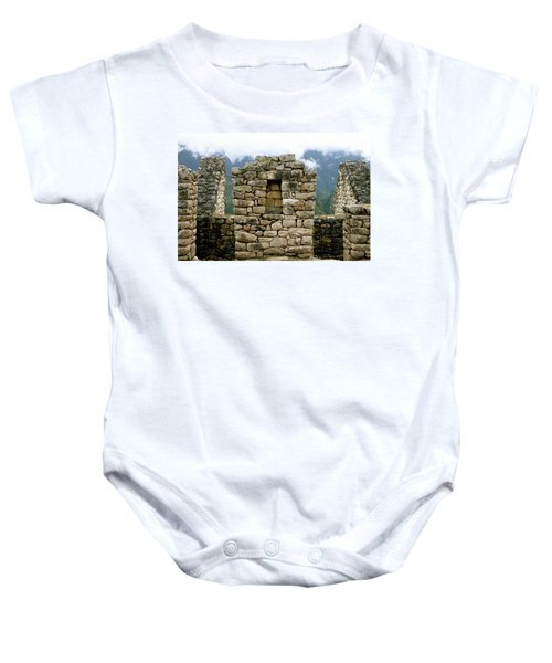 Ruins In A Lost City Baby Onesie