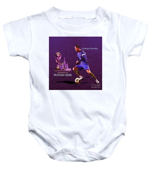 Russia 2018 Football World Cup  Baby Onesie