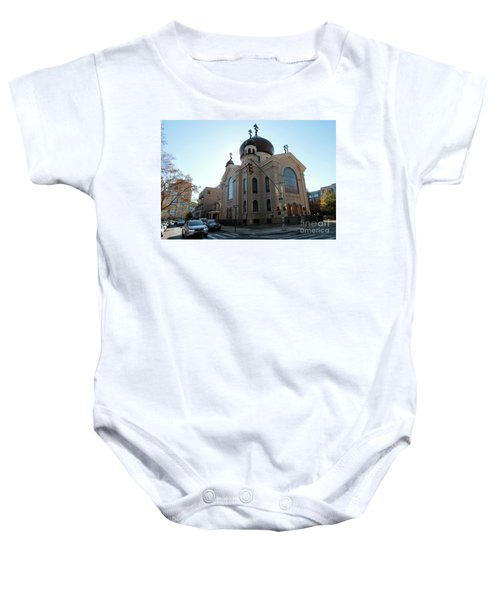 Russian Orthodox Cathedral Of The Transfiguration Of Our Lord Baby Onesie
