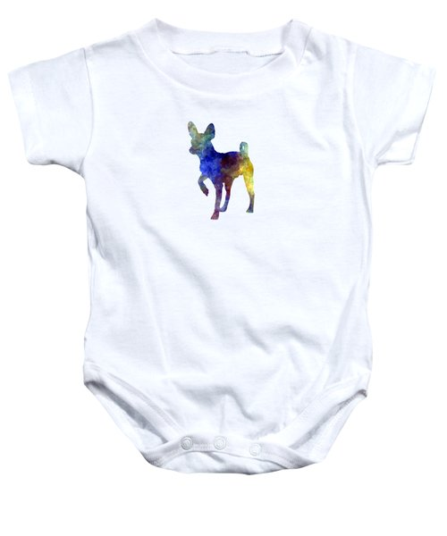 Russian Toy 01 In Watercolor Baby Onesie by Pablo Romero