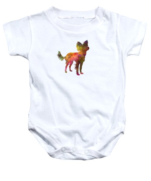 Russian Toy 02 In Watercolor Baby Onesie by Pablo Romero