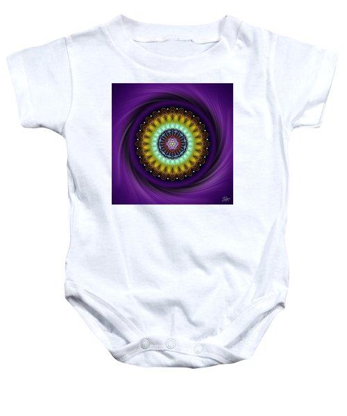 Sacred Geometry 710 Baby Onesie