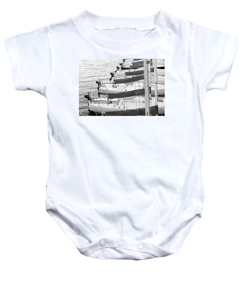 Sailboats Baby Onesie