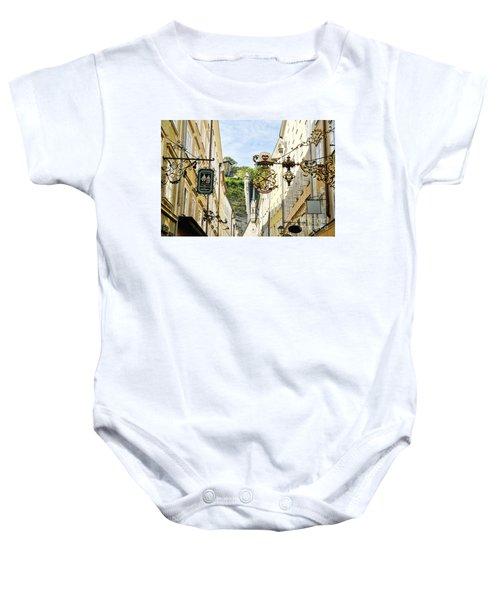 Salzburg Shopping Baby Onesie