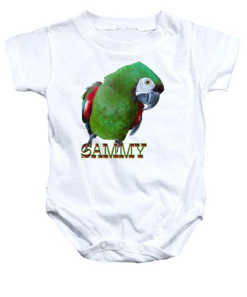 Sammy The Severe Baby Onesie by Zazu's House Parrot Sanctuary