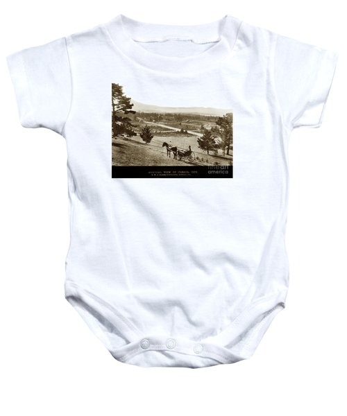 Samuel J. Duckworth Pauses To Look Upon What Would Become Carmel 1890 Baby Onesie