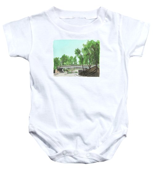 San Diego Recruit Depot Welcome Baby Onesie