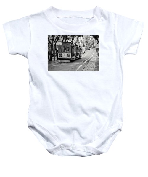 San Francisco Cable Cars Baby Onesie