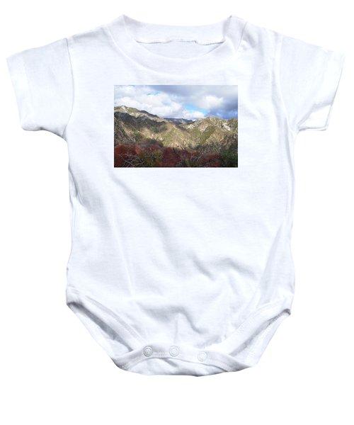 San Gabriel Mountains National Monument Baby Onesie
