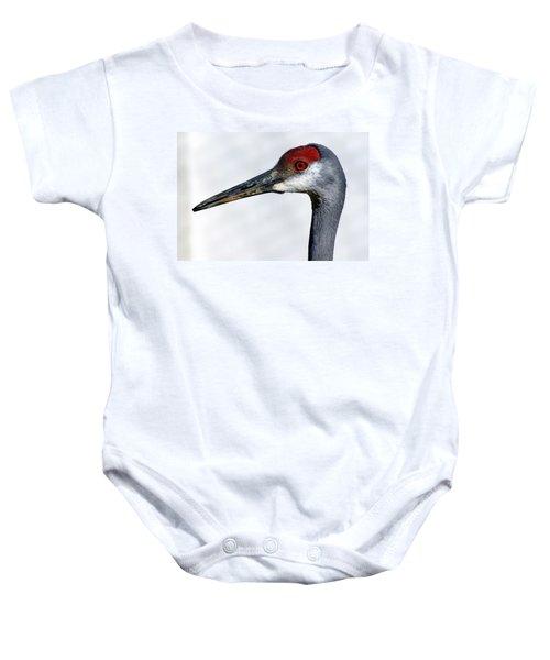 Sandhill Crane Baby Onesie
