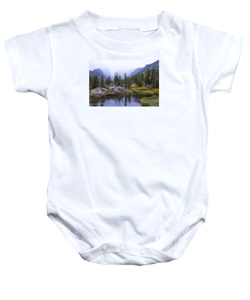 Saturated Forest Baby Onesie