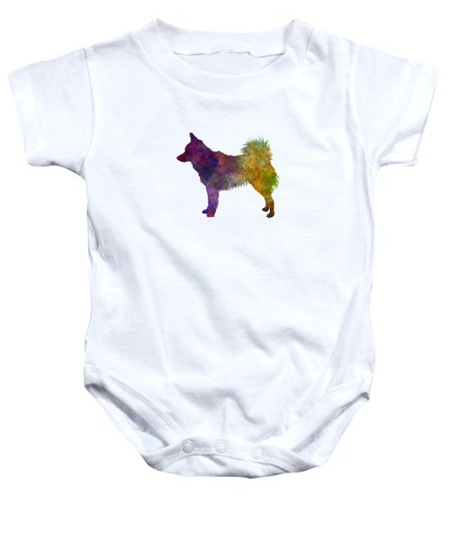 Schipperke In Watercolor Baby Onesie