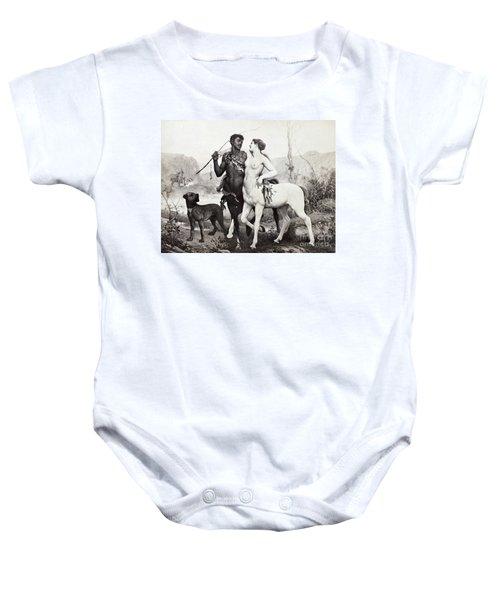 Schutzenberger: Centaurs Baby Onesie by Granger