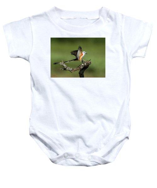 Scissor-tailed Flycatcher Baby Onesie