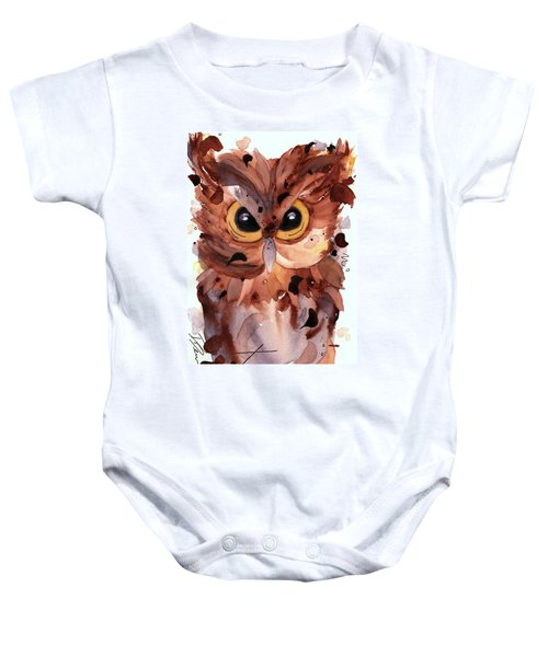 Screech Owl Baby Onesie