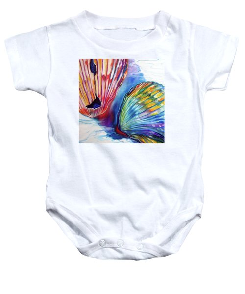 Sea Shell Abstract II Baby Onesie