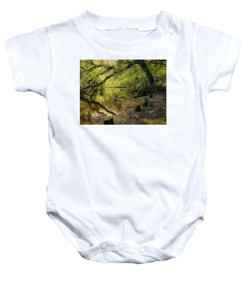 Secluded Sanctuary Baby Onesie