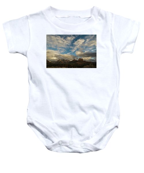 Sedona Arizona Redrock Country Landscape Fx1 Baby Onesie by David Haskett