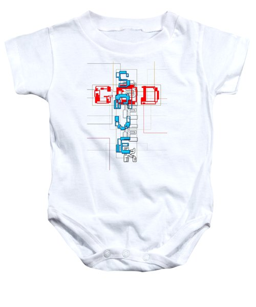 Seek, The Saving God Baby Onesie