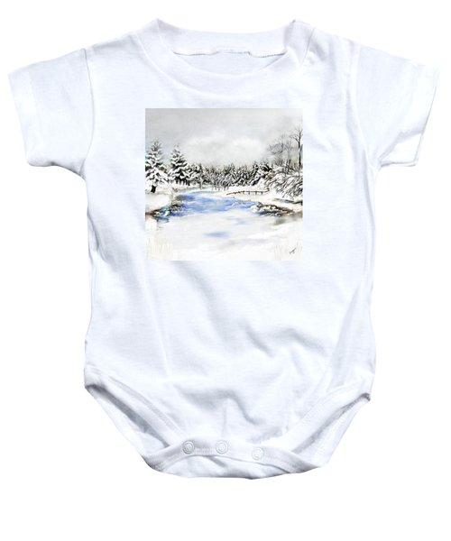 Seeley Montana Winter Baby Onesie