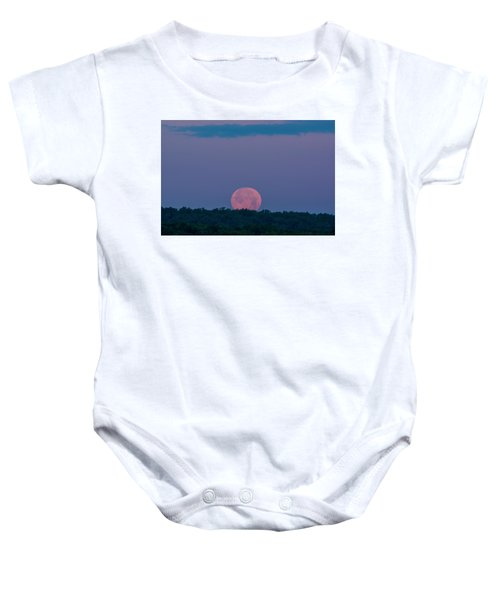 Setting Strawberry Moon Baby Onesie