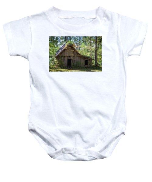 Shack In The Woods Baby Onesie