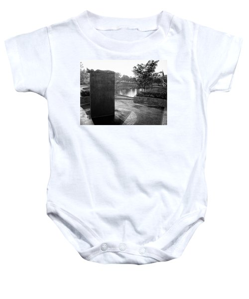 Shadow Of Heroes Baby Onesie