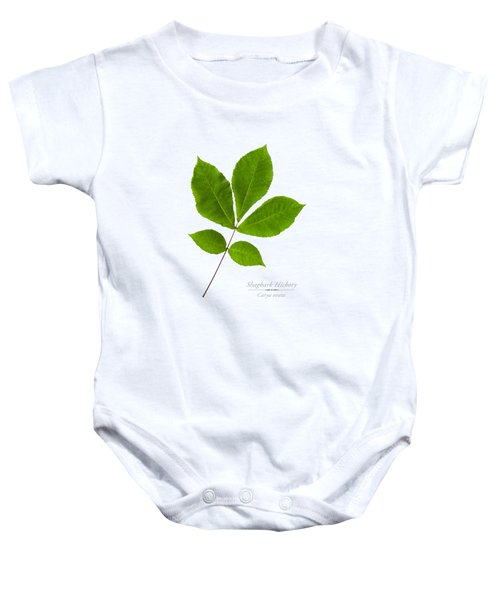 Baby Onesie featuring the photograph Shagbark Hickory by Christina Rollo