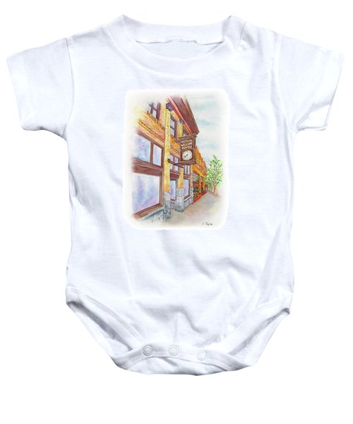 Shakespeare Time Baby Onesie