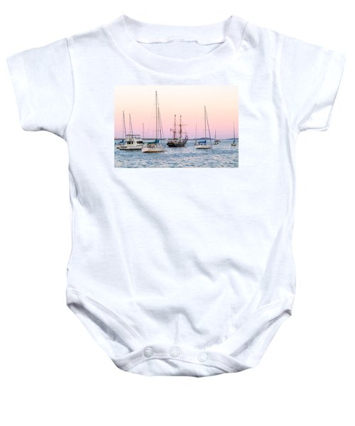 Ship Out Of Time Baby Onesie