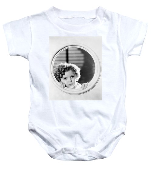 Shirley Temple (1928-2014) Baby Onesie by Granger