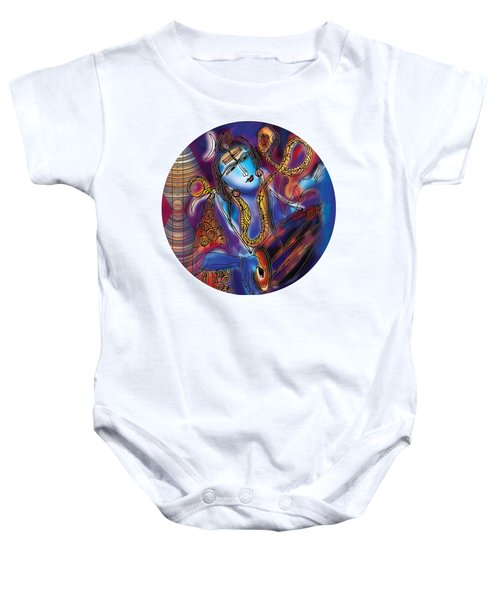 Shiva Playing The Drums Baby Onesie