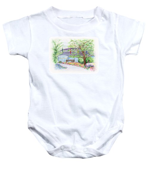 Show Time Baby Onesie