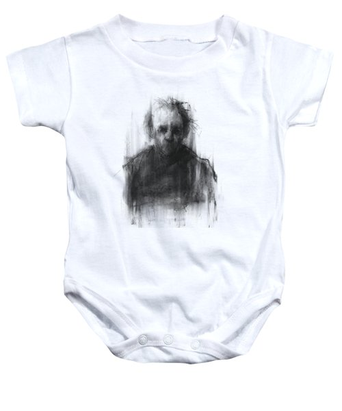 Simple Man II Baby Onesie by Bruno M Carlos