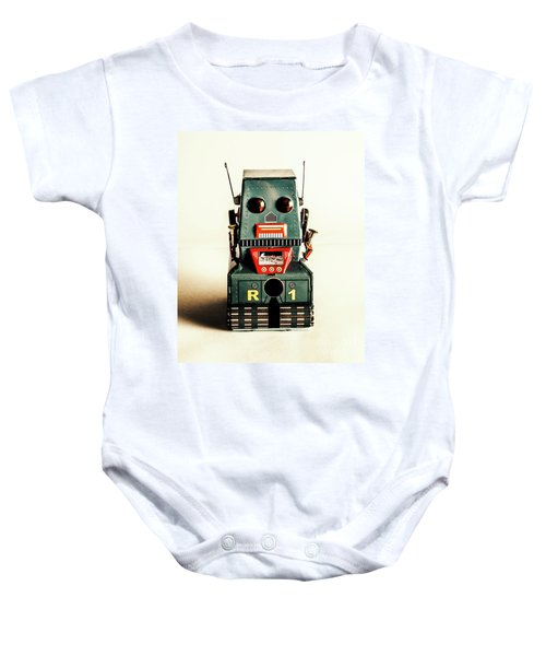 Simple Robot From 1960 Baby Onesie