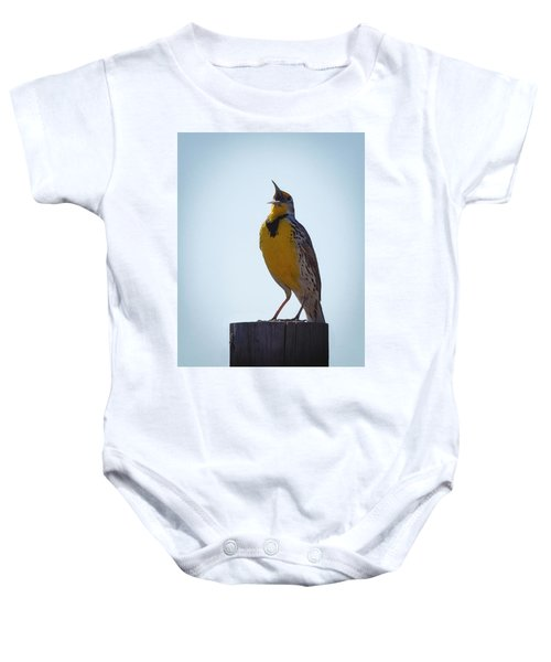 Sing Me A Song Baby Onesie