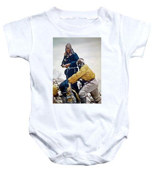 Sir Edmund Hillary Baby Onesie
