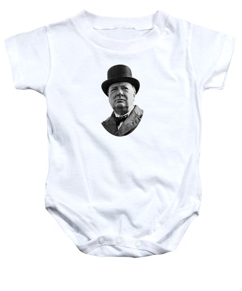 Sir Winston Churchill Baby Onesie